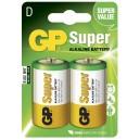 PILES LR20/D GP SUPER PAR 2
